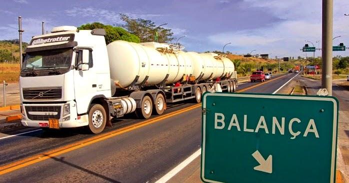 Governo Federal suspende a pesagem de caminhões em rodovias federais