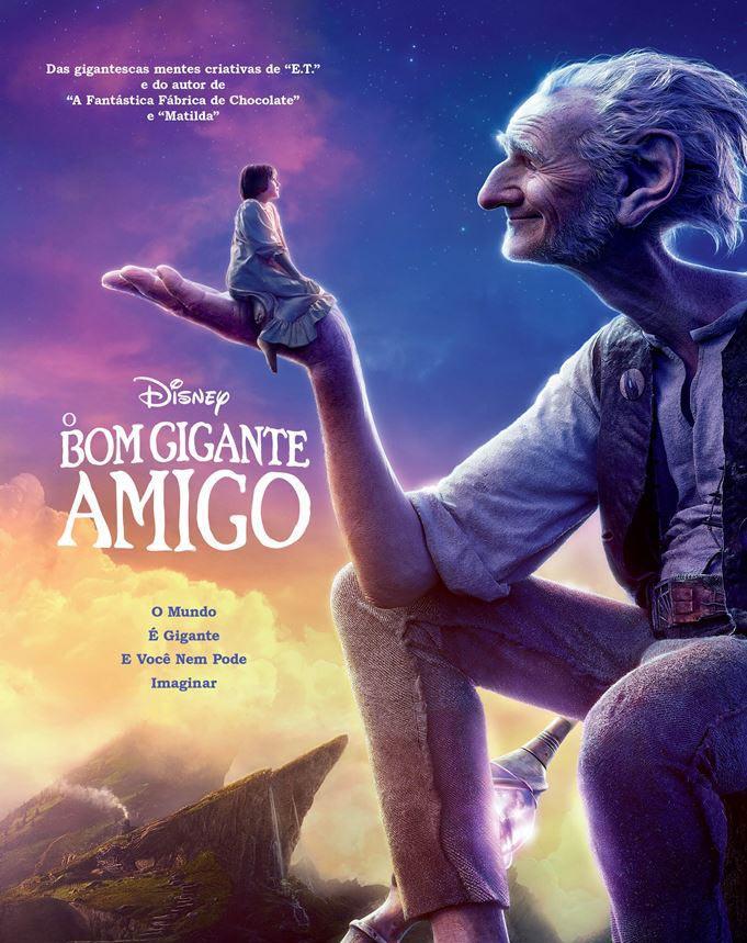 O Bom Gigante Amigo – BluRay 720p e 1080p Dual Áudio (2016)