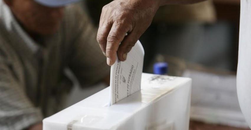 ELECCIONES 2018: Candidatos podrán postular con domicilio múltiple - www.onpe.gob.pe