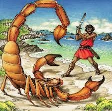 Resultado de imagem para mitologia grega orion...