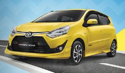 Toyota New Agya Surabaya