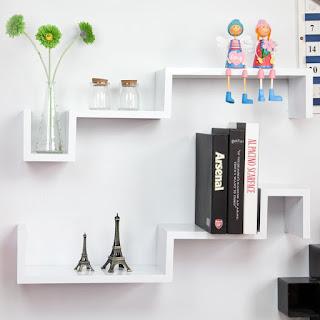 Tidak ada yang tidak membutuhkan rak dan lemari untuk menata barang 67 Model Simple dan Kreatif Rak Dinding Minimalis