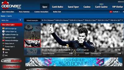 Odeonbet 778 UEFA Avrupa Ligi Canlı Bahisleri 24-11-2016