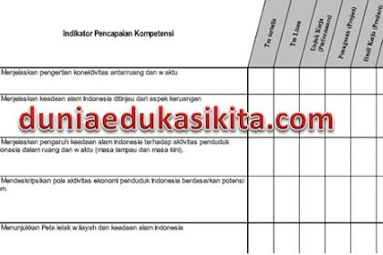 Silabus, Prota, Promes, RPP IPS Kelas 7 SMP/ MTs Kurikulum 2013 Revisi 2017