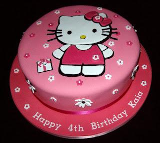 Gambar Kue Hello Kitty yang Lucu 11