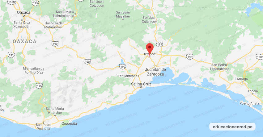 Temblor en México de Magnitud 4.0 (Hoy Domingo 22 Marzo 2020) Sismo - Epicentro - Ixtepec - Oaxaca - OAX. - SSN - www.ssn.unam.mx