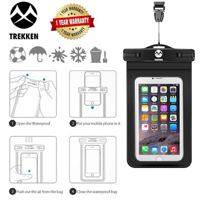 Posterguy Waterproof Mobile Pouch Case Cover