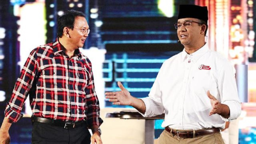 Anies vs Ahok