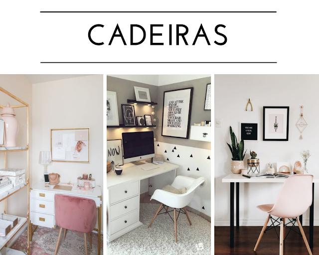 Inspirações de decoração do home office e onde comprar os itens