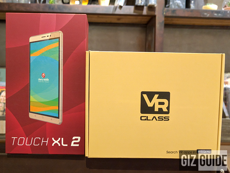 Cherry Mobile Touch XL 2 unboxing and first impressions