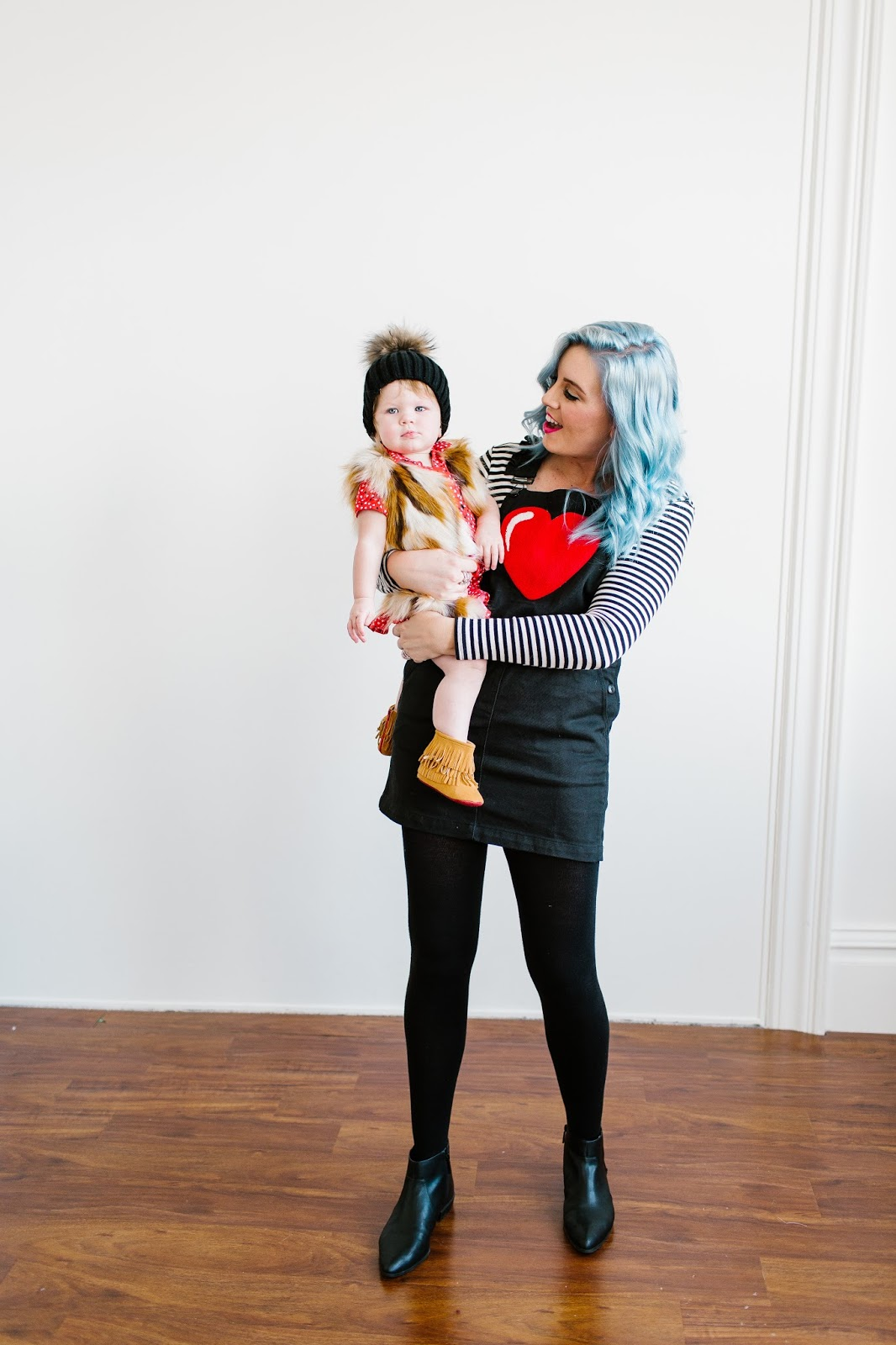 Mommy and Me Outfit, Utah Fashion Blogger, Stripes