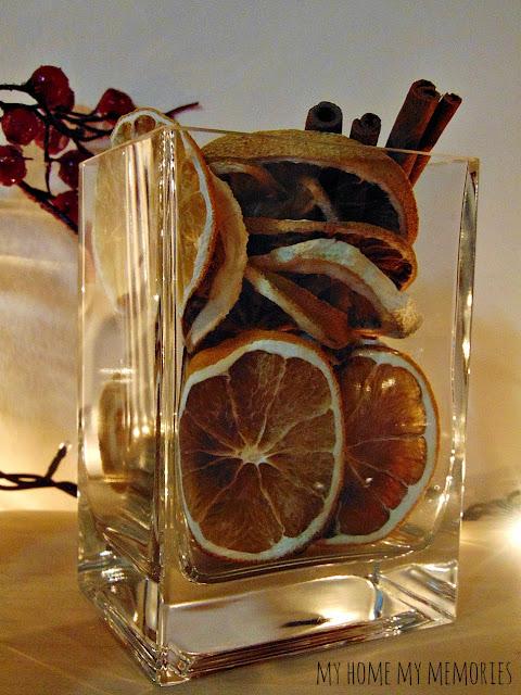 αποξηραμένα-πορτοκάλια-κανέλα-σε-γυάλινα-βάζα