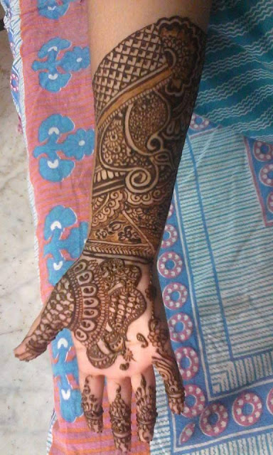 Mehandi Design for Hands 14