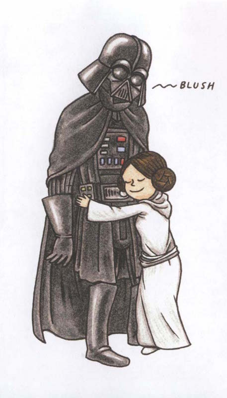 Vader's Little Princess, by Jeffrey Brown.