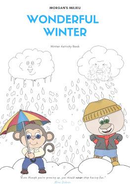 Winter themed Activity Book!