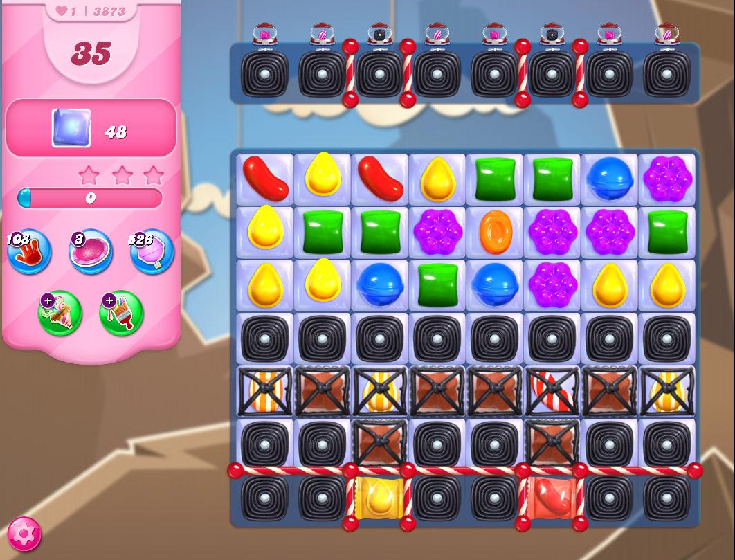 Candy Crush Saga level 3883