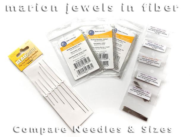 Needles for Beaded Jewelry