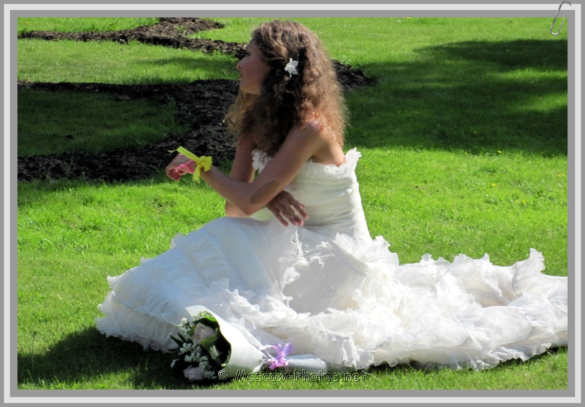 Sexy Moscow Bride