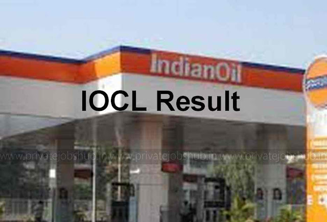 IOCL Result