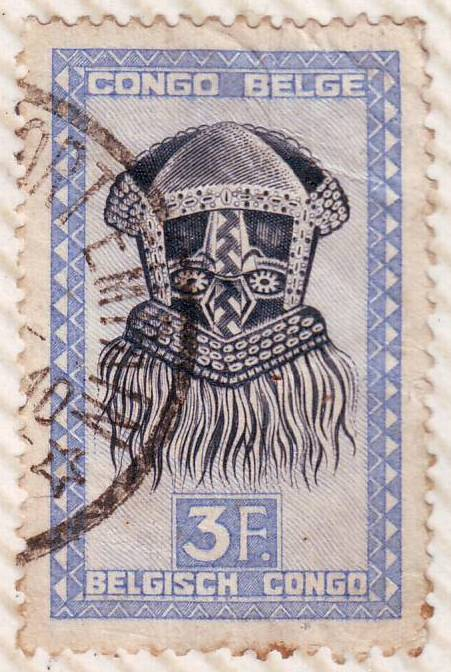 Indonesia Stamp Antique Collection Congo Belge Stamp