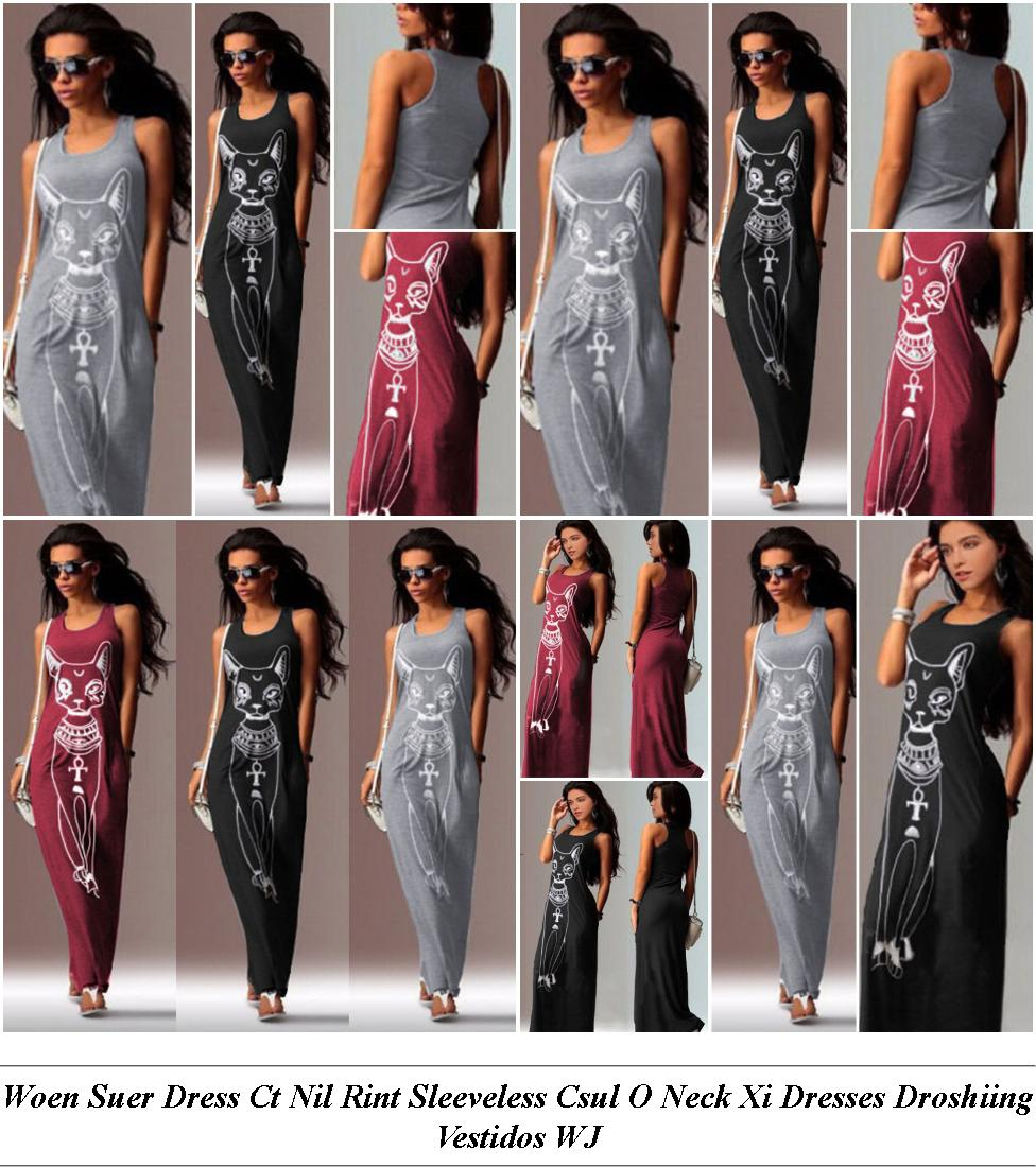 White Dresses For Women - Designer Clothes Sale - Pink Dress - Cheap Online Clothes Shopping