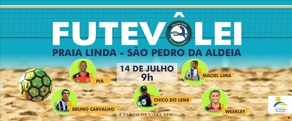 Zona Oeste recebe torneio de Futevôlei neste mês com presença de campeões brasileiros