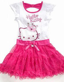 Gambar Baju Hello Kitty Untuk Anak 9