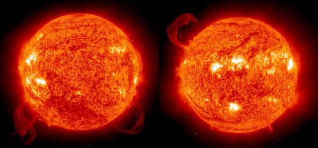 الشمس نجم يسيطر على النظام المداري الذي يحتوي الأرض