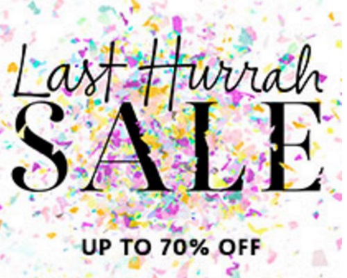 Sephora Last Hurrah Sale Up To 70% Off