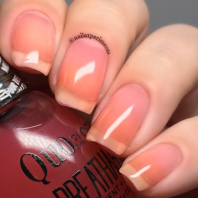 quo by orly breathable sweet serenity swatch