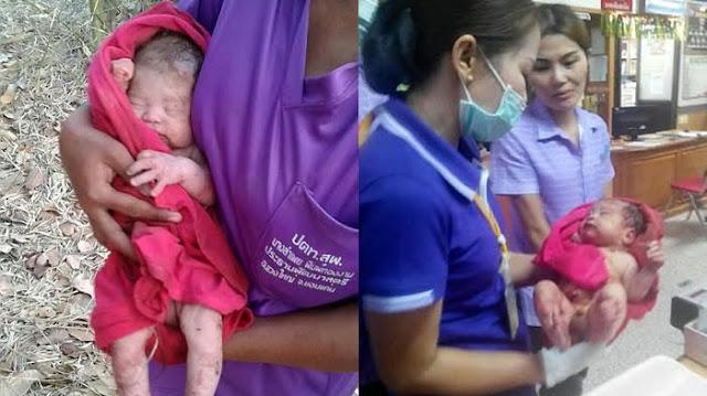 Kejam! Bayi Ini Ditusuk 14 Kali dan Dikubur Hidup-Hidup, Ditemukan Masih Hidup Keadaanya Miris