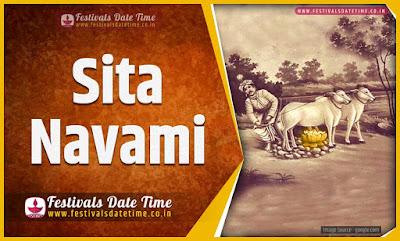2020 Sita Navami Date and Time, 2020 Sita Navami Festival Schedule and Calendar