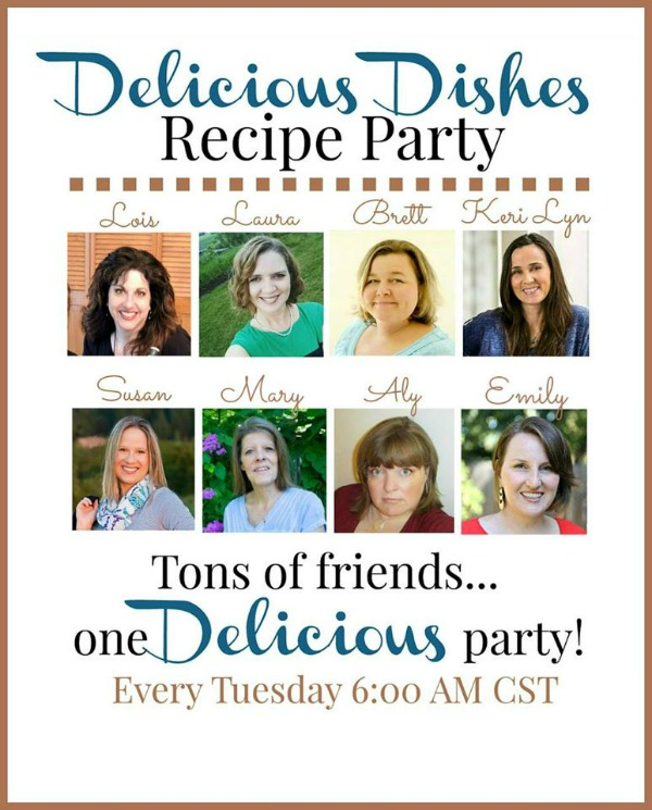 Over 150 recipes being shared every week with Delicious Dishes Recipe Party featured on Walking on Sunshine Recipes