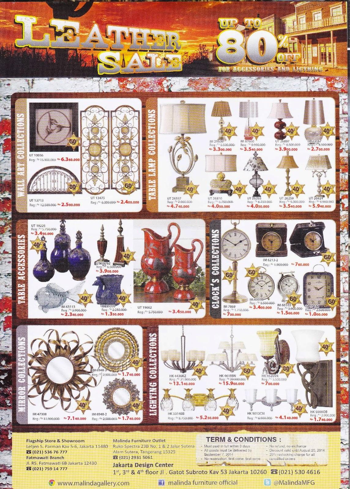Malinda Furniture Galery Jasa Sebar Brosur