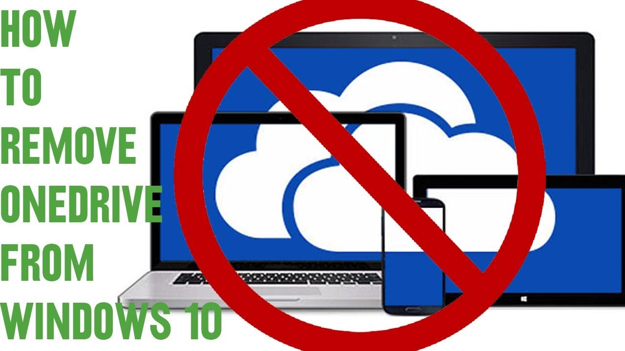 Hướng dẫn gỡ bỏ OneDrive trong Windows 10