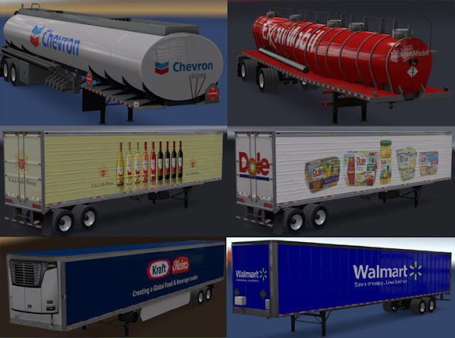 recommendedmodsats, ats mods, ats realistic mods, ats real companies, ats real trailers, american truck simulator mods, ats 1.32, ats real companies and trailers mod screenshots1