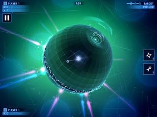 Merupakan sebuah game dengan genre dual stick shooter yang keren dan seru Unduh Game Android Gratis Geometry War 3 : Dimensions apk + obb