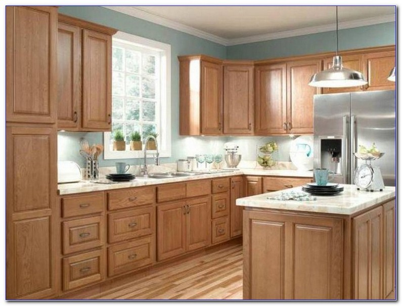 Modern Kitchens With Oak Cabinets
