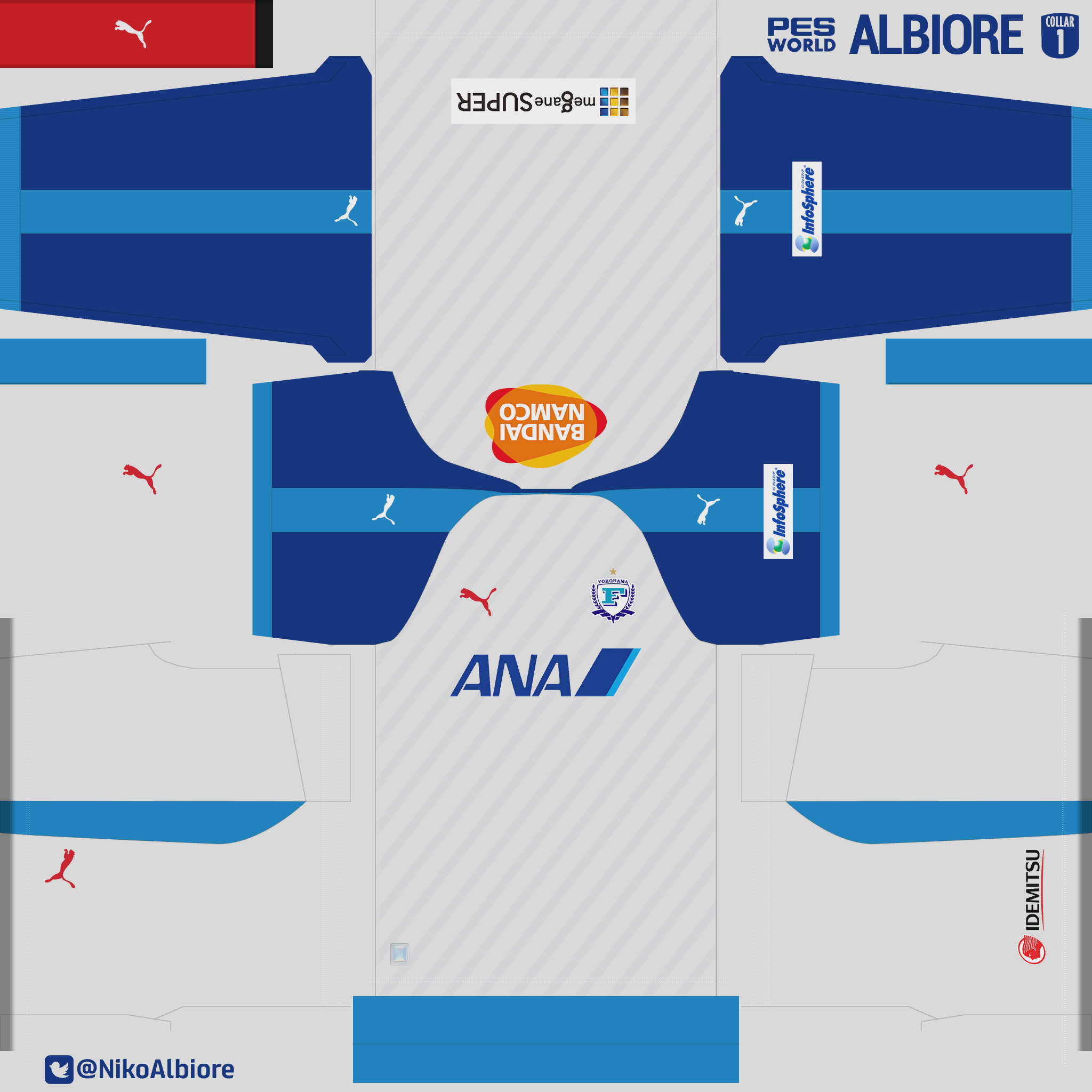 myclub 2018 yokohama flügels kits 25th j league series