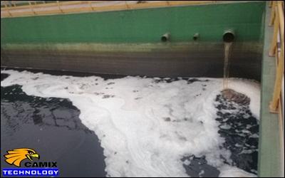 Xử lý sự cố công trình xử lý nước thải - Sự cố nổi bọt trắng