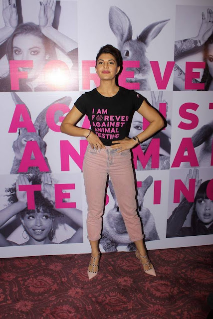 Jacqueline Fernandez Stills At FAAT Campaign