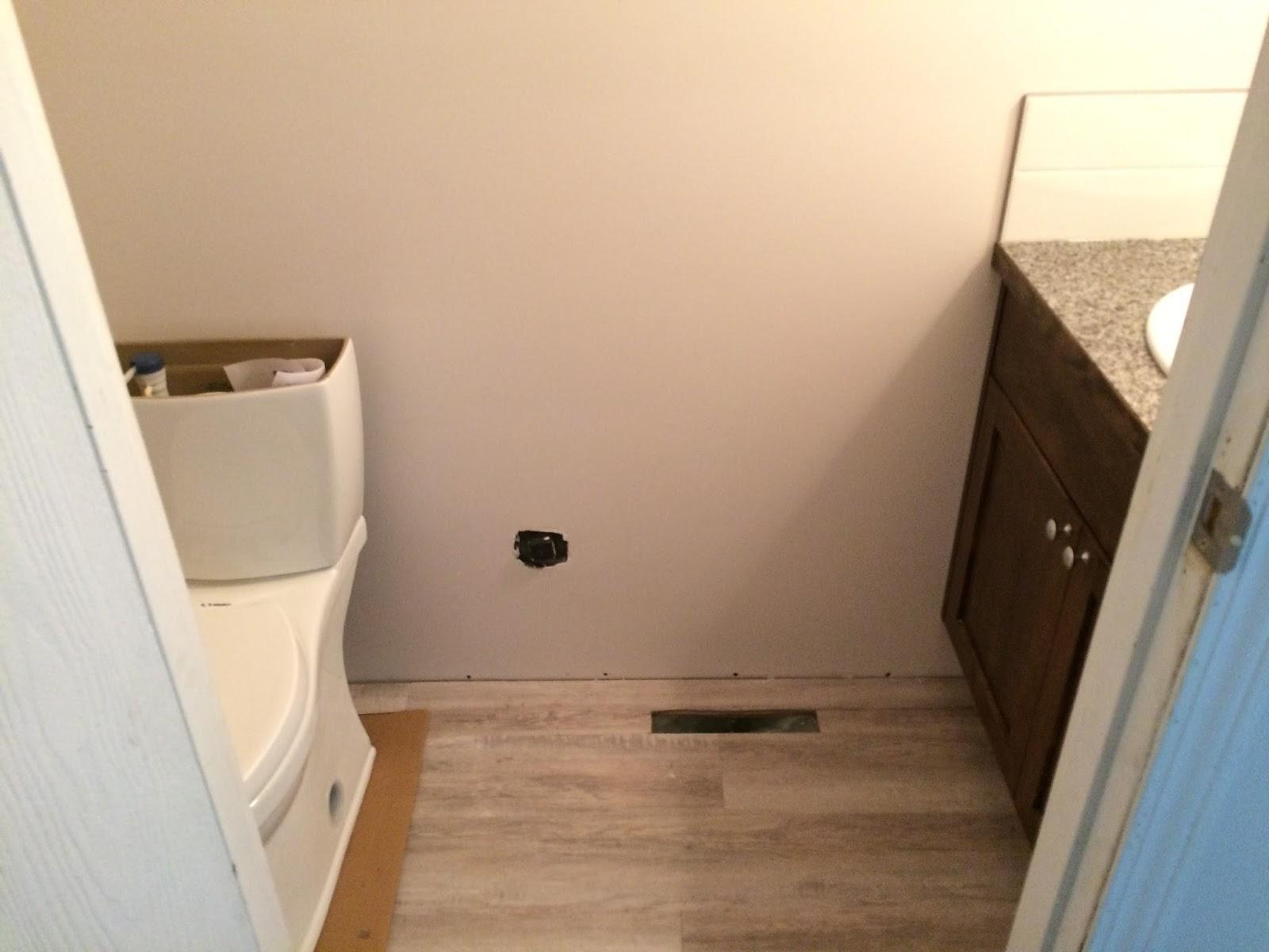 De bauers in canada badkamers renovatie - Wc met wastafel ...