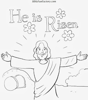 easter coloring pages for children\'s church | Alphabet ...