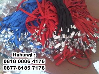 Pembuatan Tali Id Card/Tali HP/Tali Lanyard (Printing & Sablon) – Tangerang