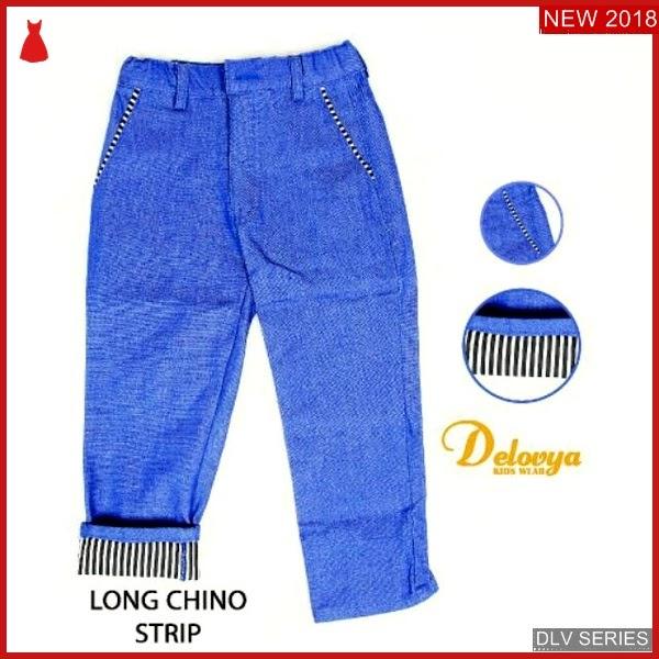 DLV40L47 Long Chino Anak Stripe Celana Panjang Balita Murah BMG