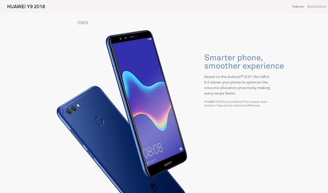 Huawei Y9 (2018) (consumer.huawei.com)