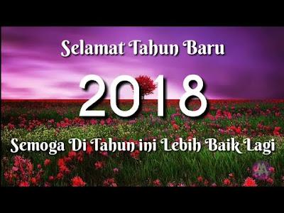 Sms Ucapan Selamat Tahun Baru 2018