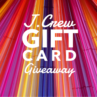 Enter the J.Crew Gift Card Giveaway. Ends 7/7