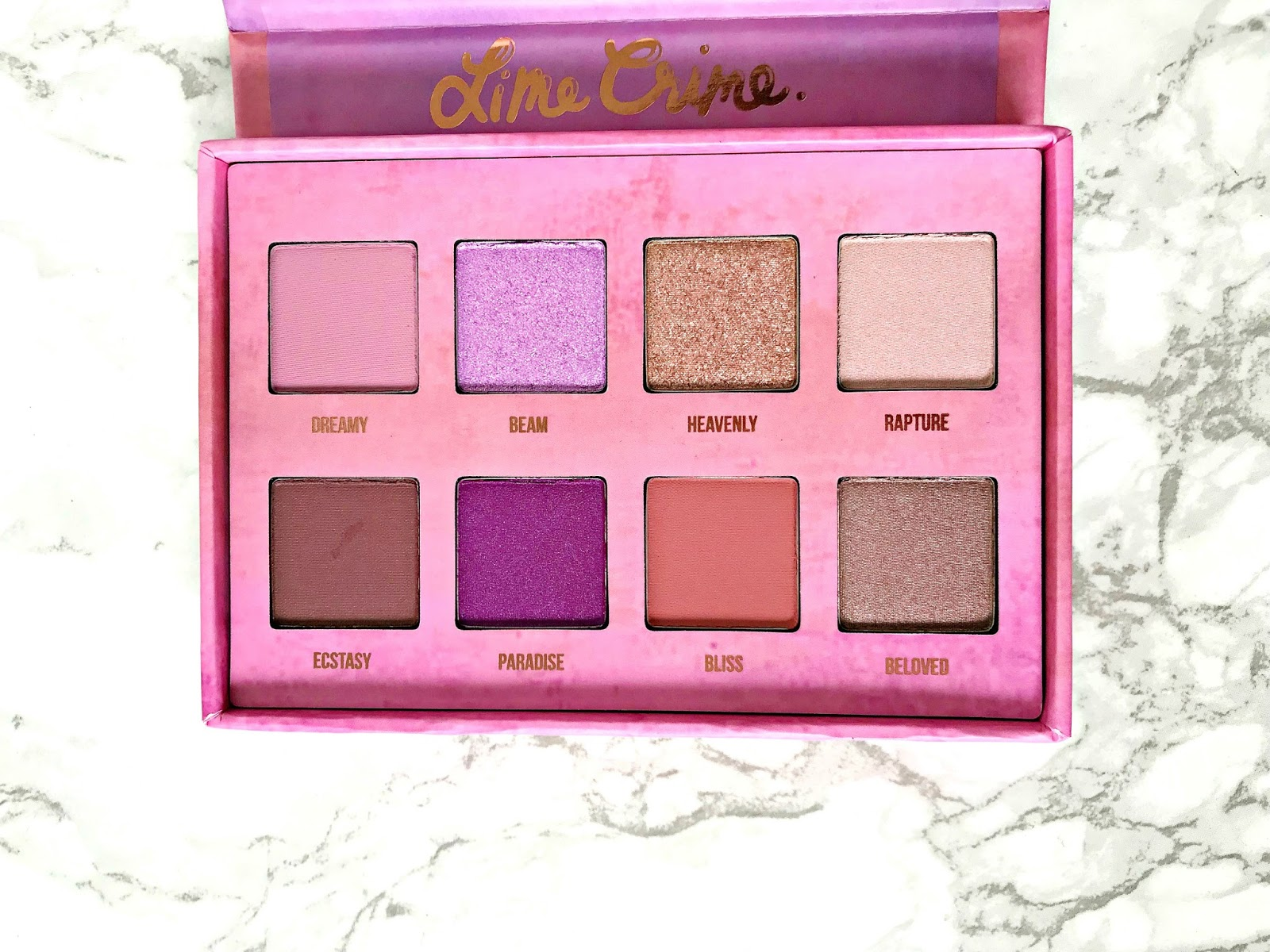 Lime Crime Venus 3 Review, Lime Crime Venus III review & swatches
