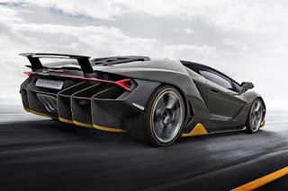 Lamborghini Centenario LP 770-4 Cencept Rear Angles